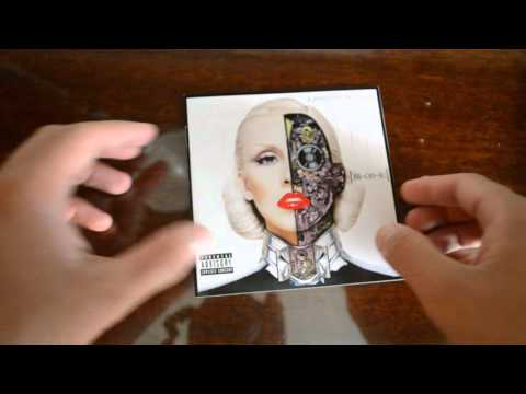 Christina Aguilera - Bionic (Deluxe Edition) |CD UNBOXING|