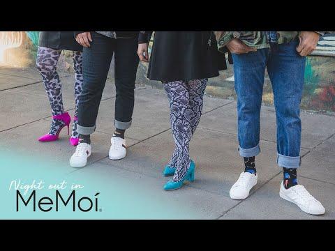 Night Out in MeMoi   MeMoi Hosiery & Legwear