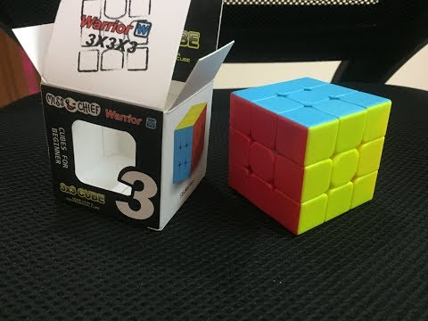 Miss & Chief Stickerless 3x3x3 High Speed Magic Rubik Cube Unboxing And Review