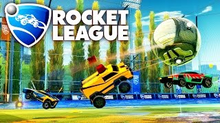 Rocket League - The Set Up Is REAL!! HARDCORE 3v3 ACTION!!  Rocket League Funny Moments