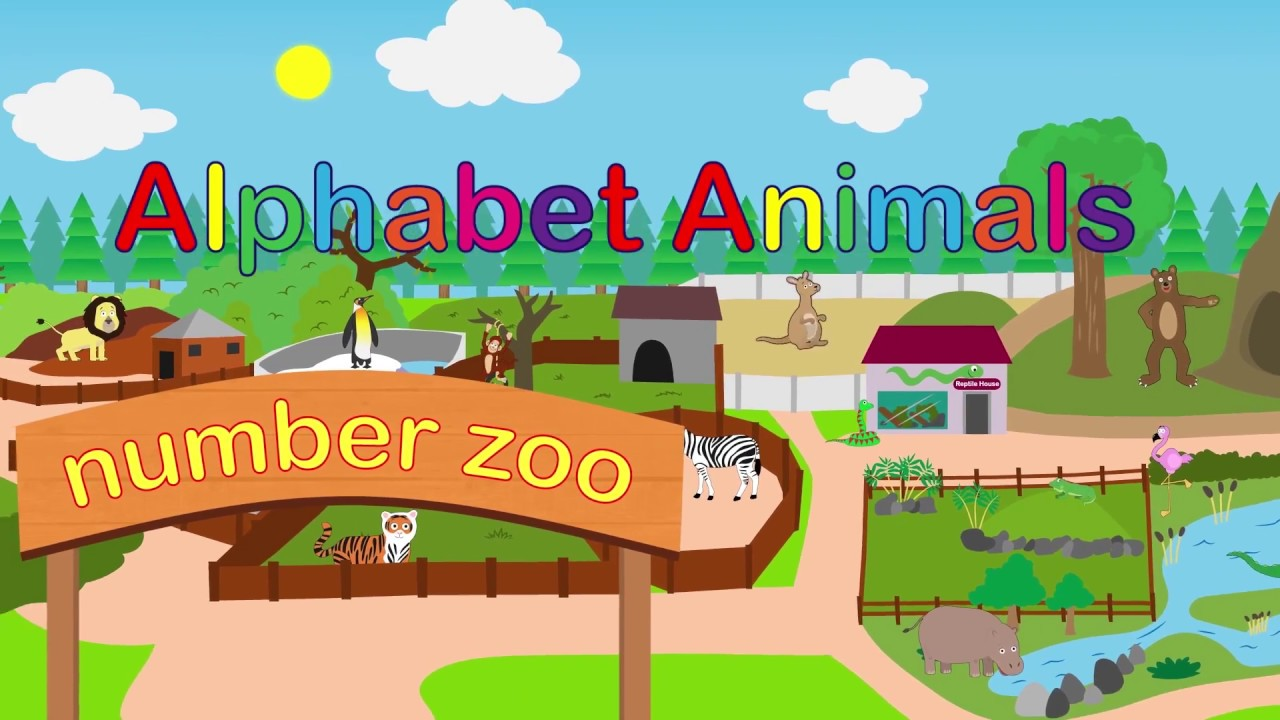 Zoo Animals Phonics Song | Educational Videos | Best Rhymes | Songs for kids