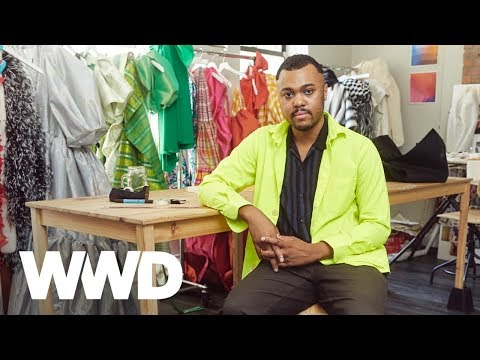 NYFW Spring 2020: Getting Dressed With Christopher John Rogers | Bridget Foley's Diary | WWD