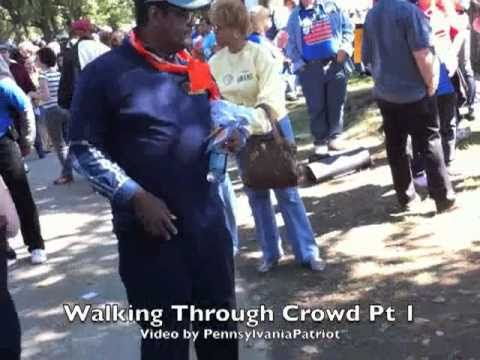 One Nation Working Together Rally Walkthrough Pt 1 by PennsylvaniaPatriot