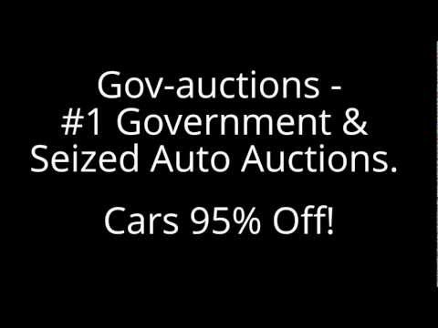 Government Car Auctions Provide Cheaper Cars Than Anywhere Else.