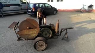 1H65 Wasserverdampfer Kreissäge Dieselmotor