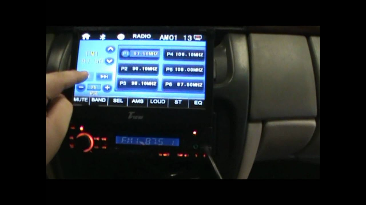 Cadillac Deville 2000 7 Quot In Dash Radio And 15 Quot Drop Down