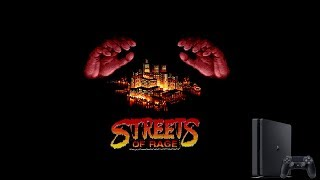Streets of Rage for PS4 (Homebrew)