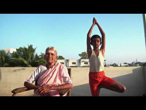 The ninety-eight year-old Nanammal continues to practice and teach yoga in Tamil Nadu