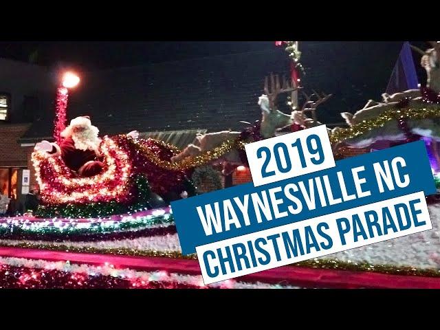 2019 Waynesville NC Christmas Parade