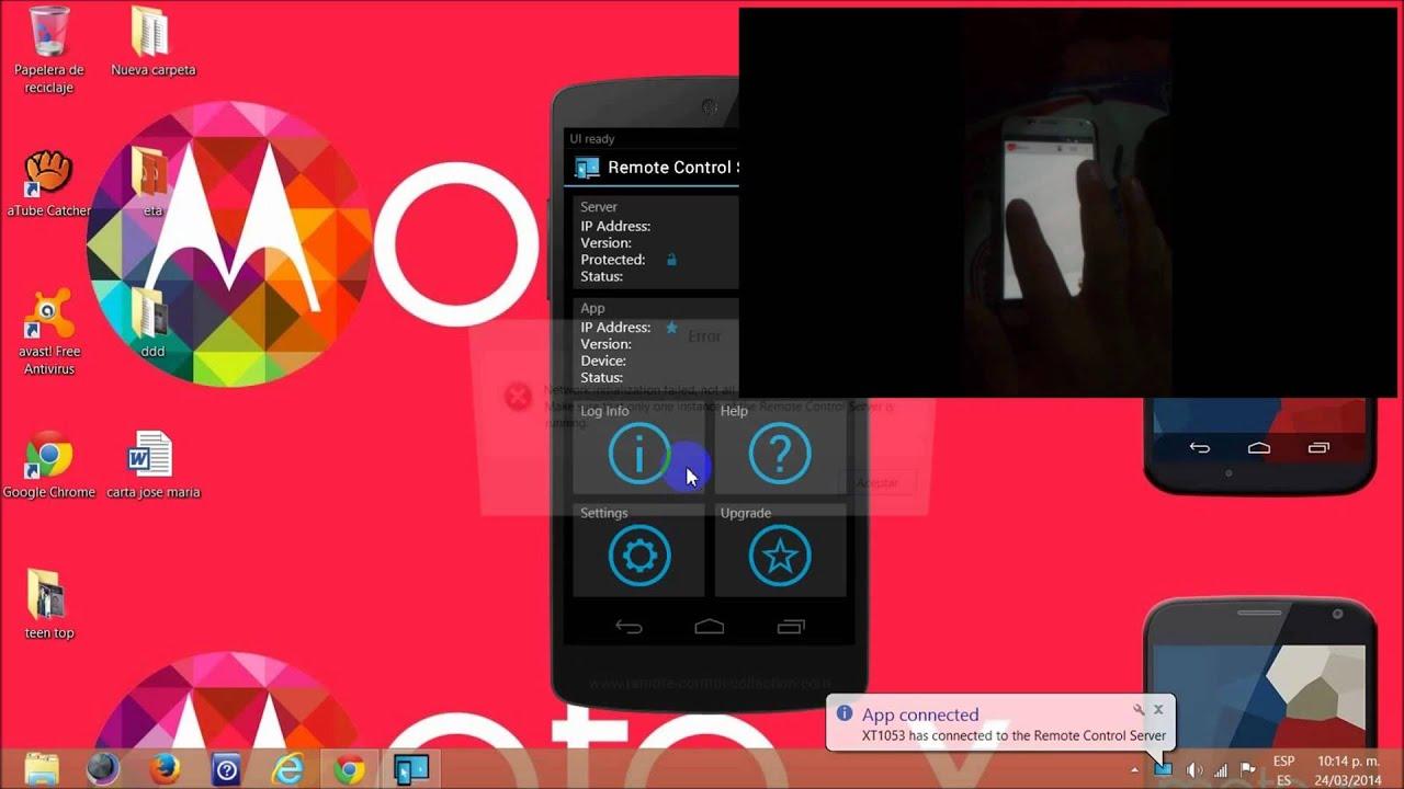 Controlar totalmente la PC desde tu Android  Increible  PRO