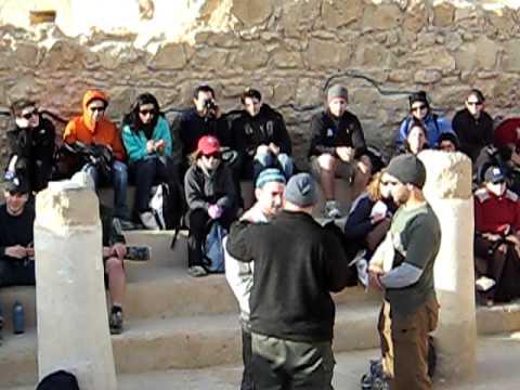 Steve at Masada