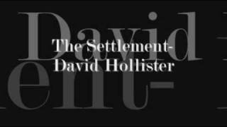 The Settlement- Dave Hollister