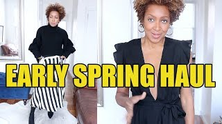 SPRING HAUL + TRY ON | TOPSHOP, REFORMATION + MORE!!
