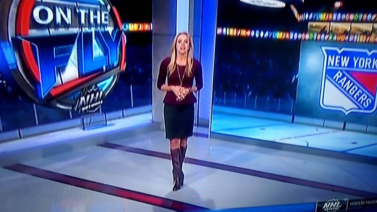 Dina Meyer Hot NHL on the Fly with Ja...