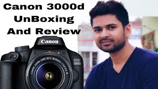 Canon Eos 3000d Unboxing And Review in Hindi   PratikVlog