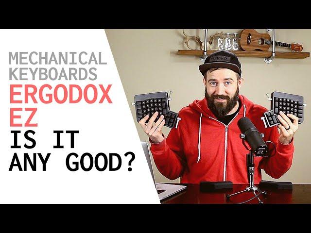 MECHANICAL KEYBOARD REVIEW - Ergodox EZ - What is it like to use an Ergodox Keyboard?