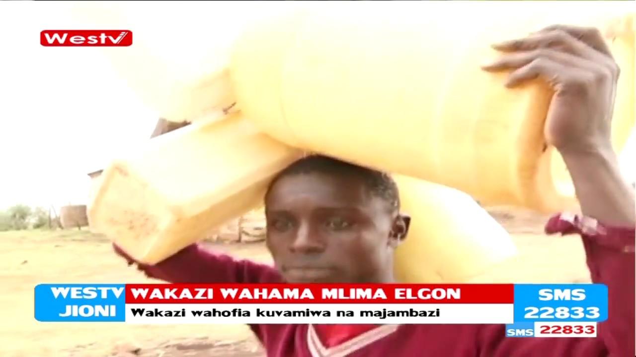 Wakaazi wa Mlima Elgon watoroka kwa kuhofia usalama