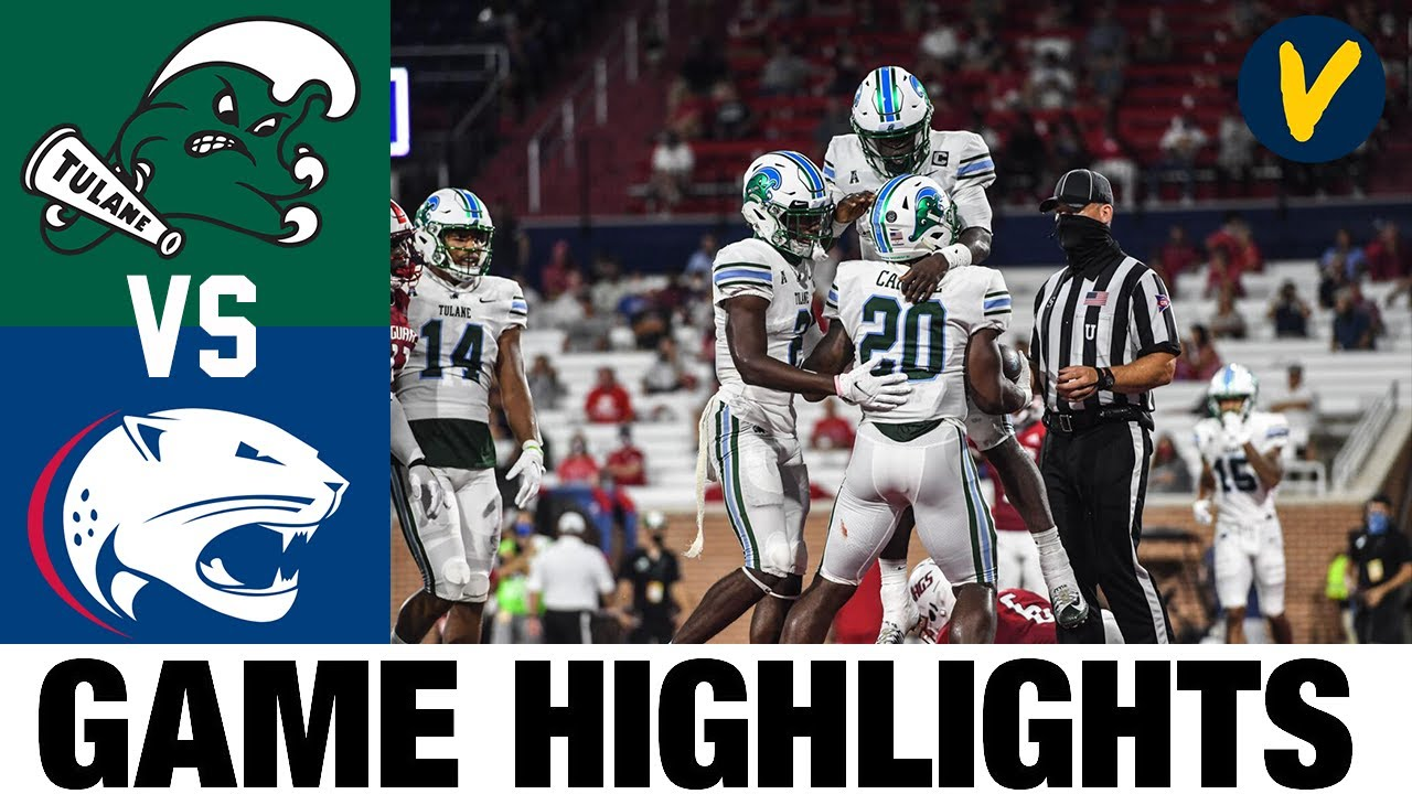 Tulane vs South Alabama Highlights | Week 2 College Football Highlights | 2020 College Football