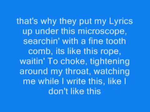 Eminem - White America Lyrics