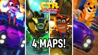 Crash Team Racing: Nitro Fueled Gameplay | FOUR DIFFERENT TRACKS!