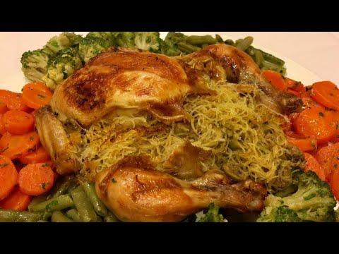 دجاج معمر بالشعرية الصينية 3