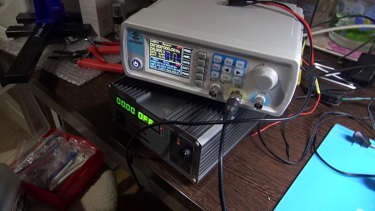 Генератор JDS6600 или сказ о гарантии, сервисе и правильных!!! инженерах-)