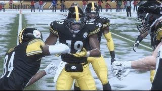 Madden 19 Gameplay! BLIZZARD GAME! JuJu and Antonio Brown DANCE ALL OVER THE Eagles! | cookieboy17