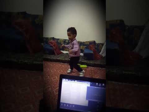 شاهد الطفل المعجزه aws 👶🏻 يرقص لحجي thumbnail