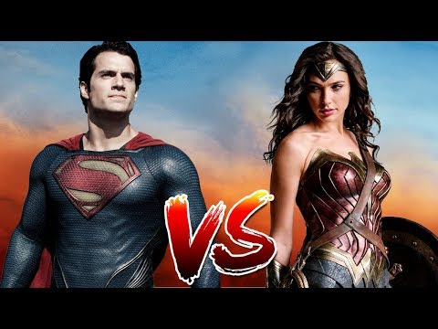 Superman VS Wonder Woman | Who Wins?
