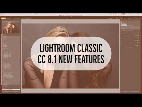 Lightroom Classic CC 8 1 New Features video – Lightroom Blog