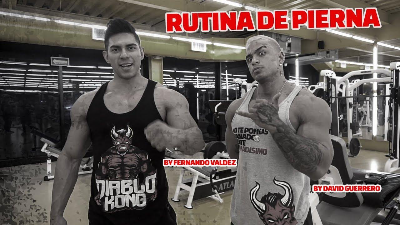 Rutina Infernal de Pierna con David Guerrero y Fernando Valdez
