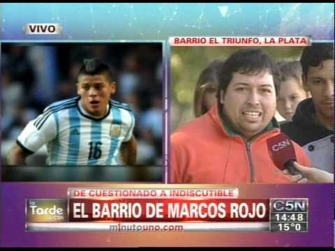 C5N - ARGENTINA A LA FINAL: EL BARRIO DE MARCOS ROJO (PARTE 1)