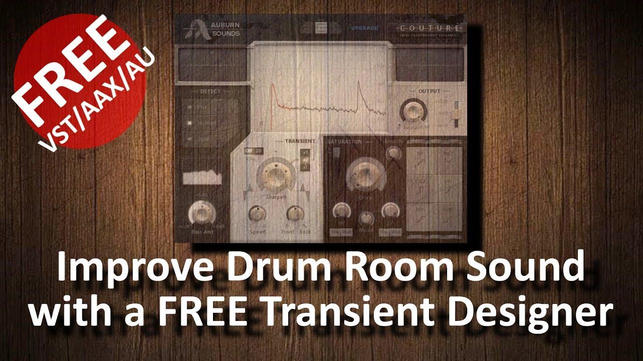 couture free vst aax transient designer improve drum rooms youtube. Black Bedroom Furniture Sets. Home Design Ideas