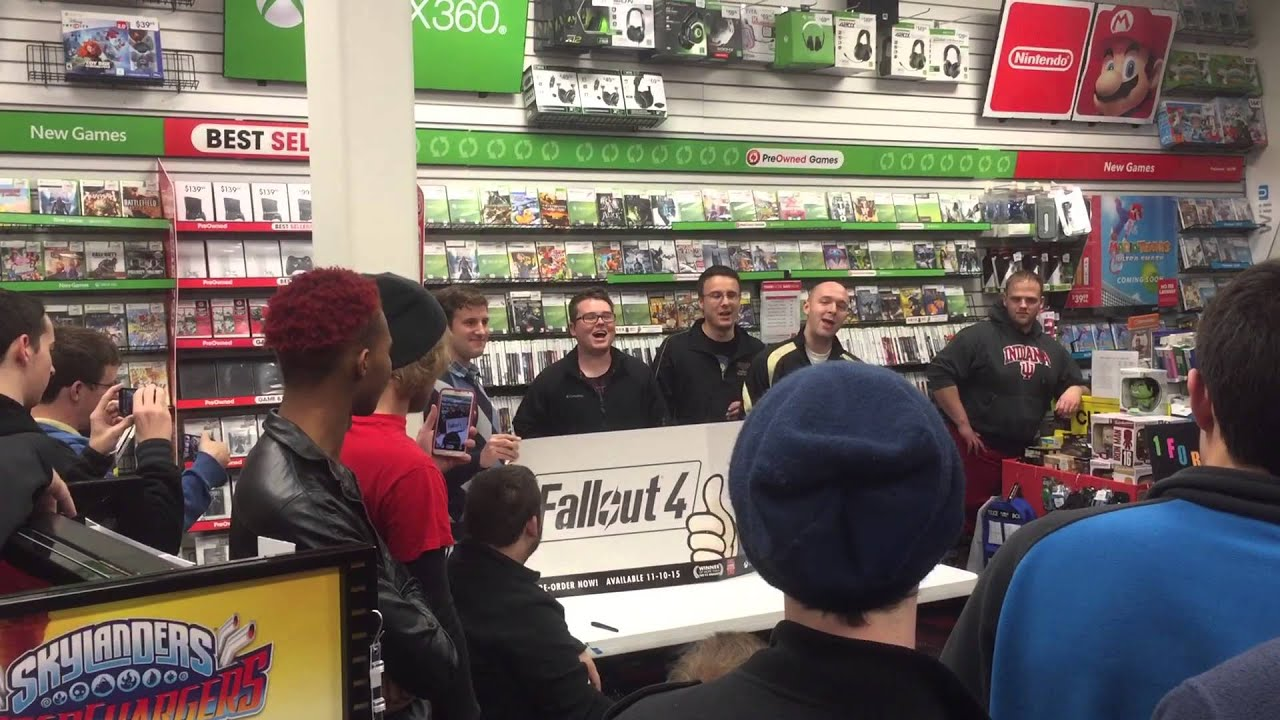 Atom Bomb Baby Performed At Fallout 4 Midnight Release