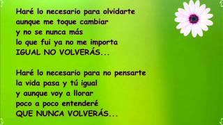 Felipe Santos - Olvidarte (Feat. Cali Y El Dandee) (Lyric Video)