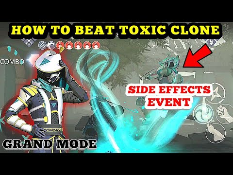 Shadow Fight 3》SIDE EFFECTS EVENT GRAND MODE | HOW to BEAT TOXIC CLONE easy