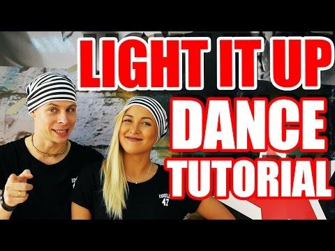 DANCE TUTORIAL - LIGHT IT UP - MAJOR LAZER  #DANCEFITNESS #DANCE #TUTORIAL