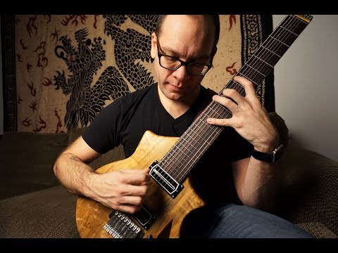 8-string guitar lesson 2: wide voiced triads (drop e tuning)