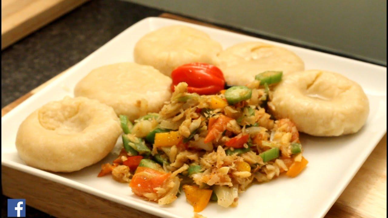 Okra salt fish with dumpling jamaican food best from for Saltwater fish food