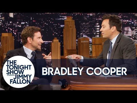 Bradley Cooper Leaves with Jimmy Mid-Interview to Check if H