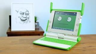 This Weird Laptop Looks Like Shrek! - OLPC XO-4