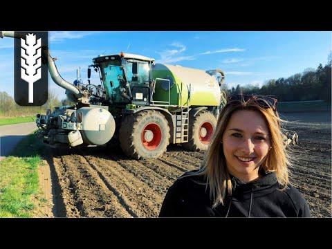 ALINAS LANDLEBEN - Girlpower - Glle fahren - Claas Xerion - John Deere