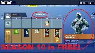 How To Get Fortnite Season 10 Battle Pass For FREE!! 2019 Best Glitch