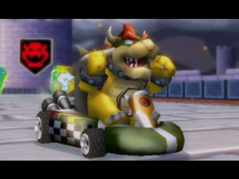 mario kart wii how to get dry bowser
