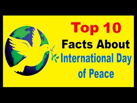 International Day Of Peace  - Facts
