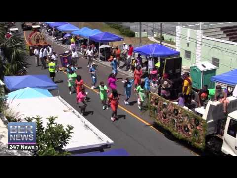 The Motivated Old School Dancers In The Bermuda Day Parade, May 26 2014