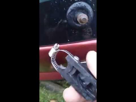 Renault Sandero Stepway 2011⁄ ремонт рычага заднего стеклоочистителя 7701042368