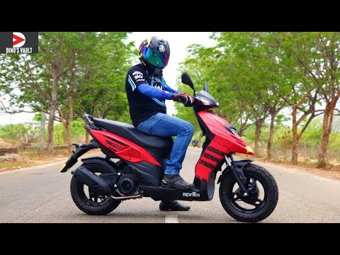 Aprilia Storm 125 Review Does 120+ kmph Top Speed #ScooterFest