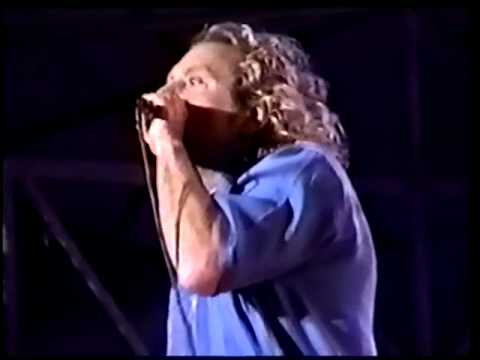 Robert Plant Rome, Italy 2000 (Priory of Brion)