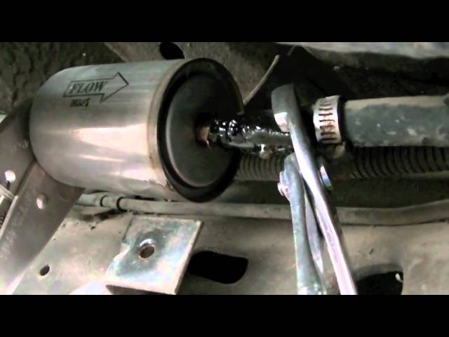[SCHEMATICS_43NM]  1984 Cadillac Coupe DeVille - Fuel Filter Replacement - YouTube | Cadillac Deville Fuel Filter Location |  | YouTube